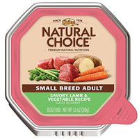 Nutro Natural Choice NATURAL CHOICE Small Breed Adult Savory Lamb and Vegetable Recipe Slices in Gravy Tray - 3.5 oz. (100 g)