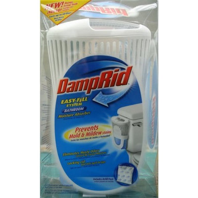 Damp Rid DampRid FG95 Bathroom E-Z Fill Absorbing System with Pouch