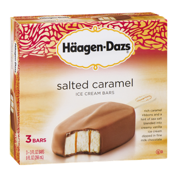 Haagen-Dazs Salted Caramel Ice Cream Bars
