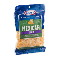 Kraft Mexican Taco Cheese Shredded