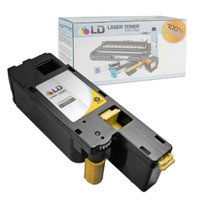 LD Compatible Toner to Replace Dell 332-0402 (XY7N4) Yellow Toner Cartridge for your Dell C1660w Color Printer
