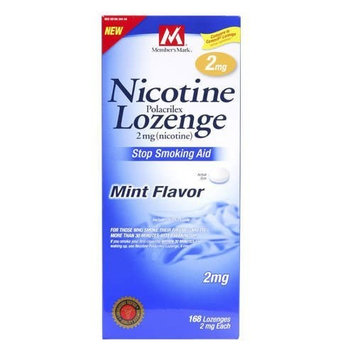 Members Mark Member's Mark-Nicotine Lozenge 2mg, 168ct