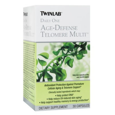 Twinlab Daily One Age-Defense Telomere Multi Capsules, 30 ea
