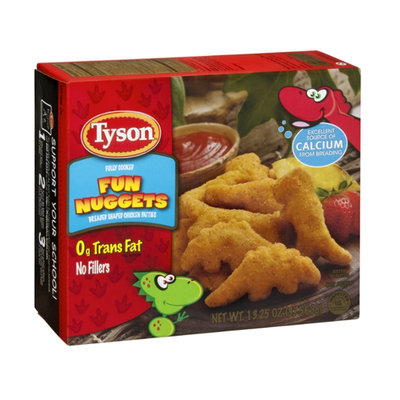 Tyson Fun Nuggets Breaded Shaped Chicken Patties