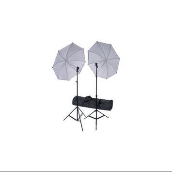 RPS Studio Deluxe Wireless Speedlite Studio Kit 2 Umbrellas, 2 Stands, 1 4-Channel Wireless Transmitter, 2 Receivers & Case