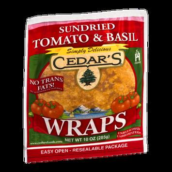 Cedar's Wraps Sundried Tomato & Basil
