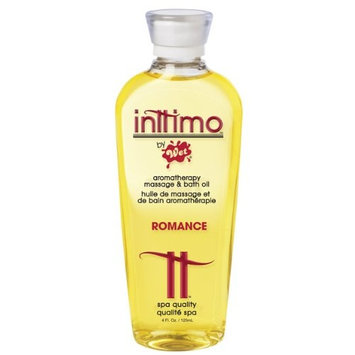 Wet Massage Oil Inttimo Romance 4 Oz