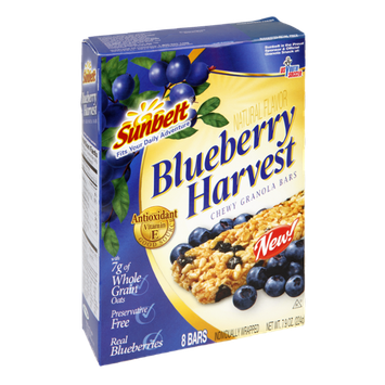 Sunbelt Blueberry Harvest Chewy Granola Bars