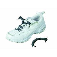 Healthsmart 640-9004-0004 Coiler Shoe Laces, Gray