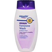 Equate pH Balance Feminine Wash, 12 fl oz