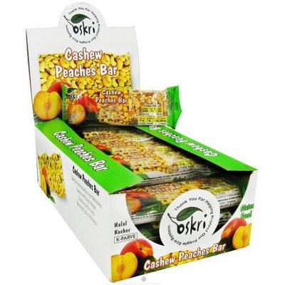 Oskri Organics Oskri Granola Ba Roasted Cashews Peach And Apricots 1.9-Ounce (Pack of 20)