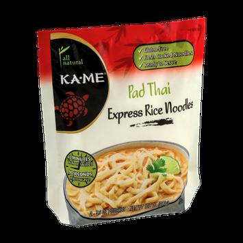 KA-ME Express Rice Noodles Pad Thai