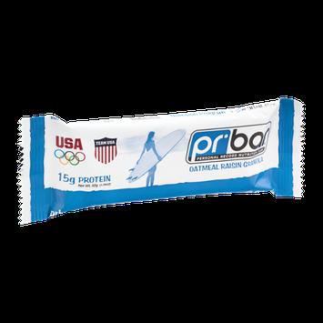 PR Bar Personal Record Nutrition Bar Oatmeal Raisin Granola