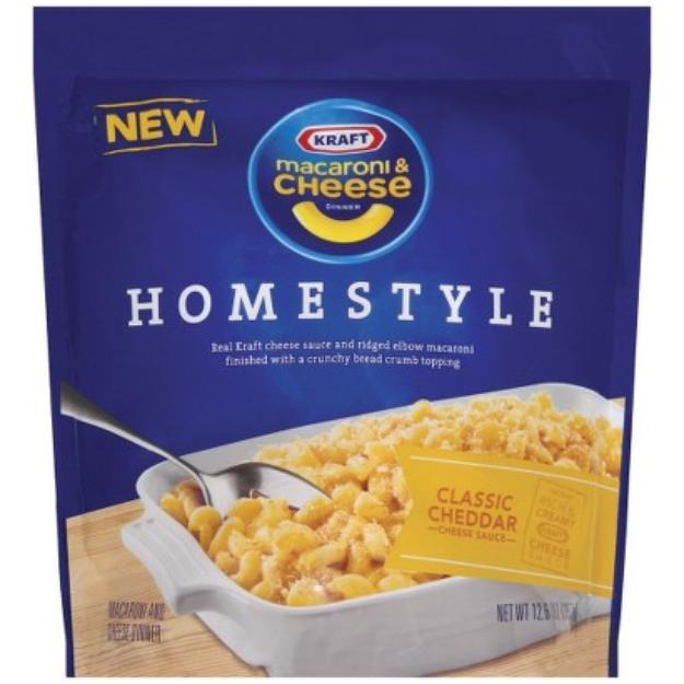 Kraft Homestyle Classic Cheddar Macaroni & Cheese Dinner 12.6 oz