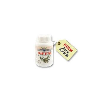 Planet Ayruveda ACNE PILLS - Neem Capsules - 60 Acne Tabets - Acne Blemish Treatment / Pimple Blackheads Treatment Remover