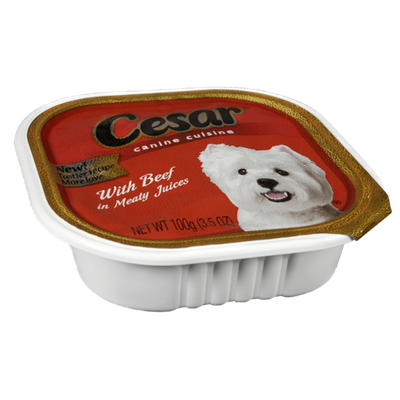 Cesar Beef Canine Cuisine