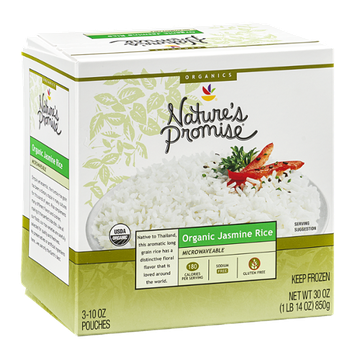 Nature's Promise Organic Jasmine Rice - 3 CT