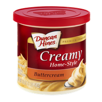 Duncan Hines Creamy Home-Style Buttercream Premium Frosting
