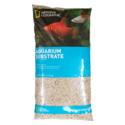 National GeographicTM Crystal Lake Aquarium Sand