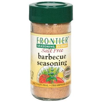Frontier Barbecue Seasoning, No Salt, 2.5-Ounce Jar (Pack of 4)
