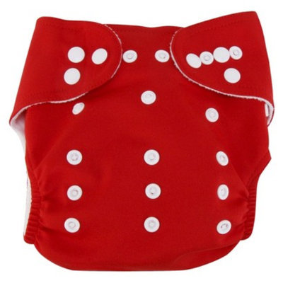 Trend Lab Cloth Diaper with Liner - Red by Lab