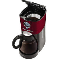 Mr. Coffee 12-Cup Programmable Coffeemaker, Red, BVMC-VMX36