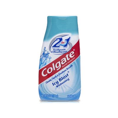 Colgate® 2IN1 Toothpaste & Mouthwash Icy Blast® Whitening Fluoride Toothpaste