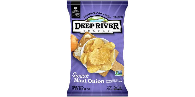 Deep River Snacks Sweet Maui Onion Kettle Chips Reviews 2019