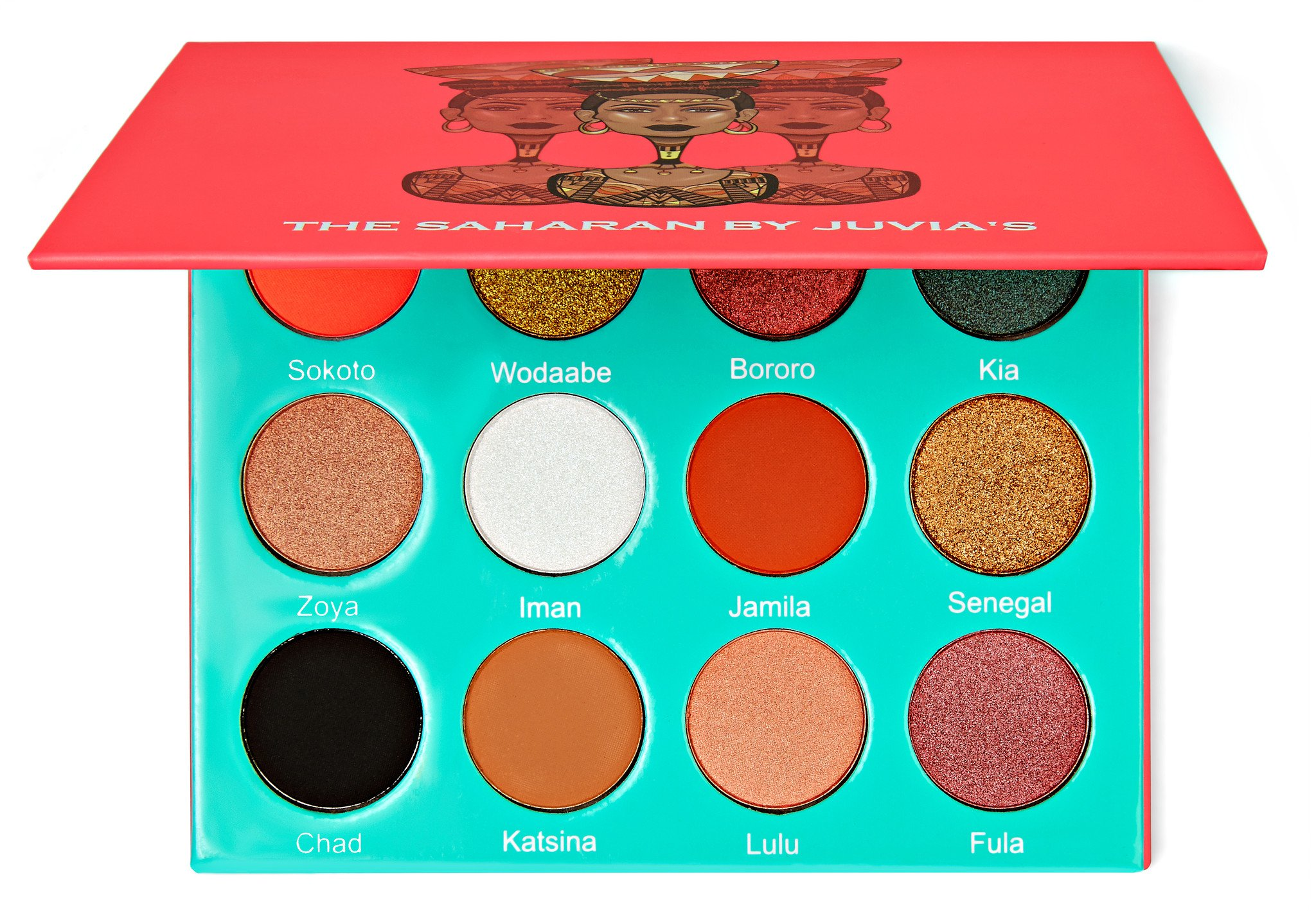 Juvias Place The Saharan Eyeshadow Palette