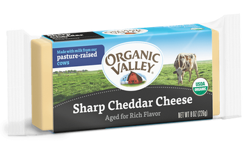 Organic Valley® Sharp Cheddar