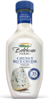 Bolthouse Farms Yogurt Dressing Chunky Blue Cheese Creamy