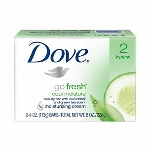 Dove Beauty Bars Go Fresh Cool Moisture