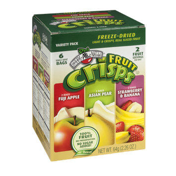 Brothers-All-Natural Fruit Crisps Variety Pack - 6 CT