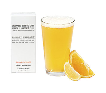 David Kirsch Wellness Co. Energy Bubbles Citrus