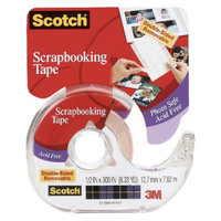 Scotch Tape Double-Sided Removable 1/2X300