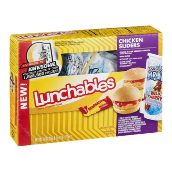 Lunchables Lunch Combinations Chicken Sliders