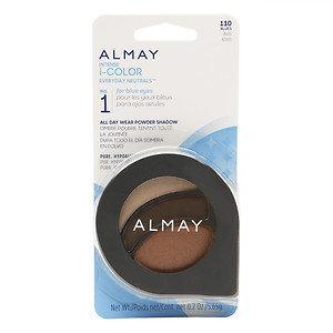 Almay Intense i-Color Everyday Neutrals All Day Wear Powder Shadow, Blues, .2 oz