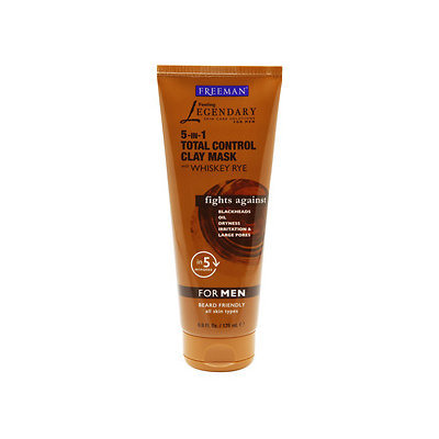 Freeman Feeling Legendary 5-in-1 Total Control Clay Mask with Whiskey Rye