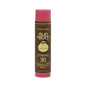 SUN BUM SPF 30 Lip Balm - Pomegranate