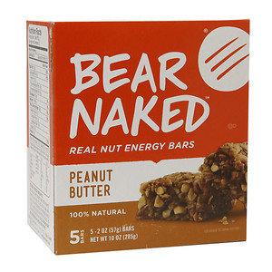 Bear Naked Real Nut Energy Bar, Peanut Butter, 5 ea