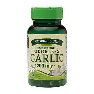 Nature's Truth High Strength Odorless Garlic 1200mg, 120 ea