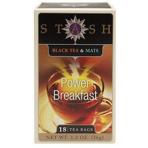 Stash Tea TEA, HRB, BLK & MT, PWR BRKFST, (Pack of 6)