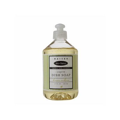 de-luxe MAISON Liquid Dish Soap, Lemon Verbena, 17 fl oz