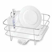 simplehuman KT1130 Stainless Steel Compact Dish Rack