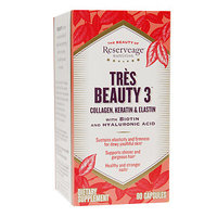 ReserveAge Nutrition Tres Beauty 3 Collagen, Keratin & Elastin, 90 ea