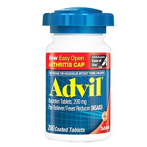 Advil Tablets, 200 ea