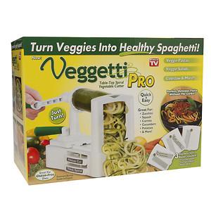 Ontel As Seen On Tv! Veggetti Pro Vegetable Spiralizer