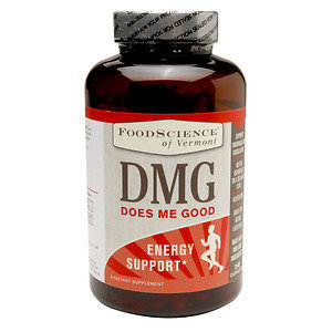 FoodScience of Vermont DMG Does Me Good Energy Support Dietary Supplement, 240 Capsules