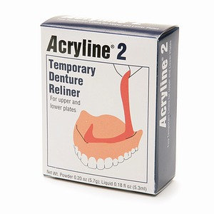 Acryline 2 Temporary Denture Reliner, 1 ea