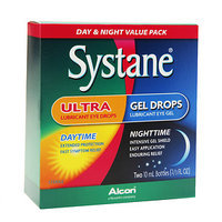 Systane Ultra Lubricant Eye Drops Day & Night, Value pack, 2pk, .67 oz